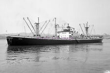 mc2001 - Greek Liberty Ship - Ania ex George A Marr - photograph 6x4