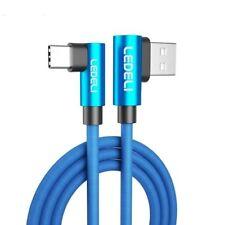 LEDELI Winkelstecker Schnellladekabel 90° geknickt  Daten- Ladekabel Micro-USB