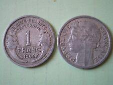 PIECE DE 1 FRANC 1946  MORLON en  ALUMINIUM