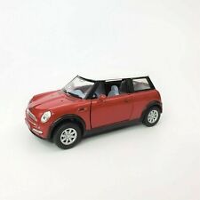 Kinsmart Red Mini Cooper Toy Car Diecast Scale 1/ 28 Collectible KT 5042