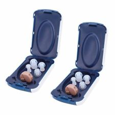 2x Mini Digital Invisible Hearing Aids in the Ear Best Sound Voice Amplifier Aid