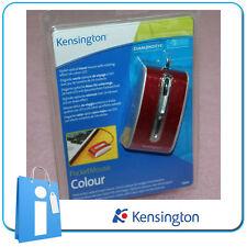 Mini Raton Optico Kensington ROJO Optical Mini Mouse Nuevo