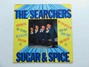 THE SEARCHERS  ORIG 1963  U.K. LP SUGAR AND SPICE