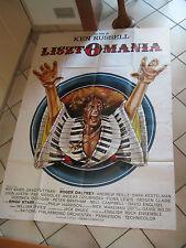 manifesto 4F  LISZTOMANIA 1975 Roger Daltrey, Ringo Starr  beatles, KEN RUSSELL,