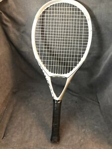 Wilson nCODE n3 Oversize 113 Sq.In. 4 3/8 Grip Tennis Racquet Nice White