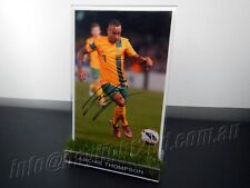 ✺Signed✺ ARCHIE THOMPSON Photo & Frame PROOF COA Victory Socceroos 2017 Jersey