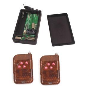 Remote Vibration 1-4 times Reminders DC1.5V Remote Control Vibration Alarm Senor