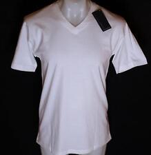 Nuovo Con Etichetta Da Uomo Originali Brooker T Shirt Scollo A V Piccolo Bianco