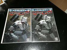 Harley Quinn #1 Rebirth Black & White Dell'Otto Variant NM Unread