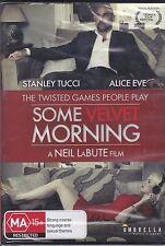 SOME VELVET MORNING-  Stanley Tucci, Alice Eve - DVD