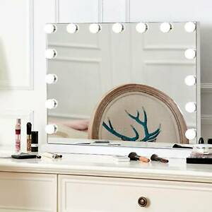 Vanity Mirror 15 LED Light Makeup Cosmetic Bathroom with  Dimmable Lights