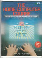THE HOME COMPUTER COURSE Magazine Issue 1/2 - Spectrum, Oric Atom (1985)