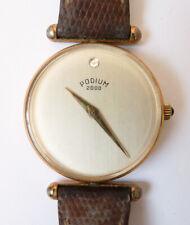 Montre de femme PODIUM 2000 Swiss Suisse mécanique watch