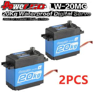 2PCS Power Hd Lw-20mg 20kg Servo Digitale Rc Buggy Truck Auto Off-Road P0B4