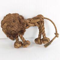 Mid Century Danish Modern Kay Bojesen Jorgen Bloch Rope Lion Sculpture Toy MCM