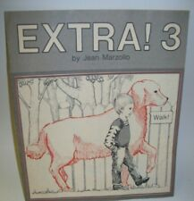 Extra! 3 by Jean Marzollo Paper Doll w/ Activity Book New Macmillan Reading 1975