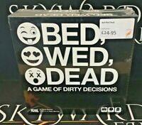 Bed, Wed, Dead - IDW Games (Genuine Sealed Game)