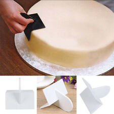 Cake Cutter Decorate DIY Easy Glide Fondant Smoother Polisher Kitchen Tool White