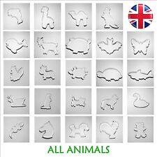 ALL ANIMALS - BUY 4 or more GET 20% OFF Cookies Cutters Bake Biscuit UK stock