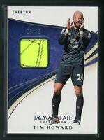 2020 TIM HOWARD 03/75 SNEAKER PANINI IMMACULATE COLLECTION
