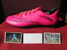 MANCHESTER CITY KEVIN DE BRUYNE HAND SIGNED NIKE MERCURIAL BOOT - PHOTO PROOF