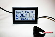 E-Bike / Pedelec - KT3 LCD3 Display für 24 V 36 V und 48 V KT Controller Tacho