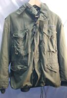 Cold Weather 1980 OG-107 Military Army Field Jacket M-65 MED. SHORT