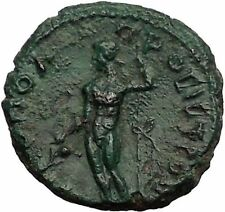 COMMODUS 177AD Nicopolis ad Istrum Dionysus Bacchus Ancient Roman Coin i57257