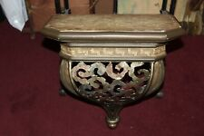 Hollywood Regency Rococo Wall Shelf #1 Metal Resin Large Size Heavy