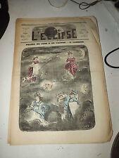 L'ECLIPSE,N°119  journal du 1 mai 1870,( phases de lune et de l )  par ladreyt
