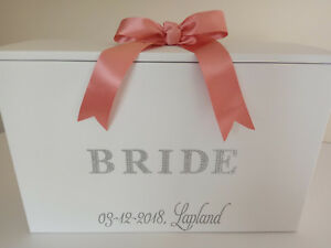 Wedding Dress Travel Box Diamante Bride 4 colours,Airline Hand Luggage,Dress Box