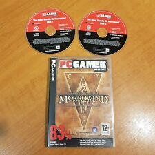 MORROWIND THE ELDER SCROLLS III GAME OF THE YEAR EDITION - Pc Dvd Rom