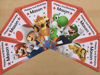 Personalised Mario bunting /decoration / birthday