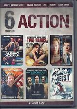 6 Action Movies (DVD, 2012, 2-Disc Set)