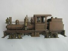 1973 Northwest Short Line 18-Ton Shay Class A 2-Truck Brass HO Train Locomotive