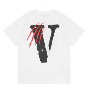 NEW VLONE Black Panther x White T shirt Size  S-3XL Hot Trend Summer 2021