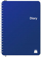 A5 2019 Diary | Weekly & Daily | Week-View, 1 & 2 Day–Per–Page, Week & Notes.