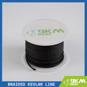 380lbs Braided Line High Quality Black Fishing Kite Strings Made with Kevlar