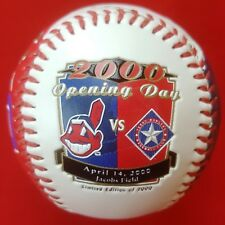 Cleveland Indians 2000 OPENING DAY Commemorative Baseball 4/14/00 JACOBS FIELD