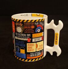 """New listing The Diy Mug """"I Love Diy"""" Ginger Fox Wrench Shaped Handle 2016 Exccellent Cond."""