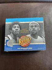 2013-14 Upper Deck Fleer Retro Basketball Hobby Box - Michael Jordan PMG