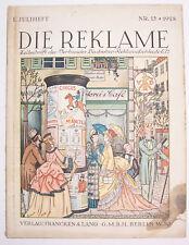 Die Reklame Zeitschrift 1. Juliheft Nr. 13 / 1928 selten ! (H6