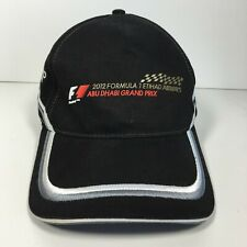 2012 Formula 1 Etihad Airways Abu Dhabi Grand Prix Adjustable Strap Hat Cap