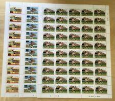FULL SHEETS Sierra Leone 1985 699-701 - Winners Ovpt - Set of Sheets - MNH