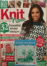 Knit Now UK Free Gift Winter Designs Baby Patterns #40 FREE PRIORITY SHIPPING