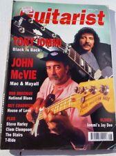 Guitarist guitar magazine August 1992 Tony Iommi John McVie Steve Harley Brozman