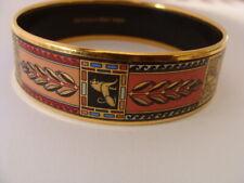 Superbe bracelet bijou Frey Wille bracelet Egypt collection émail plaqué or 24c
