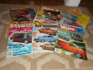 Vintage Van Magazine Lot Travelin Vans Peterson's Pickups World Hot Rod RV 1970s