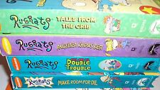 Lot of 5 Rugrates VHS Videos Nickelodeon Double Trouble Tales From the Crib