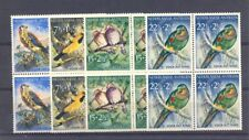 NED ANTILLEN - DUTCH ANTILLEN - 1958 # 271/274 - BLOCKS OF 4 - BIRD SET - ** MNH